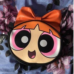 Power puff girl crossbody purse